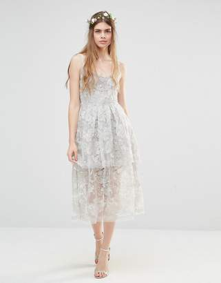 Freesia Body Frock Wedding Layered Dress