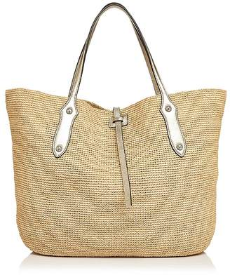 Annabel Ingall Isabella Large Raffia Tote - 100% Exclusive $365 thestylecure.com