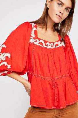 Sweet Serenade Embroidered Blouse