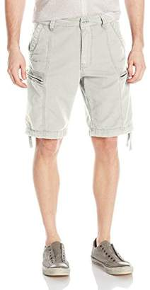 Jet Lag Men's Flat Zipped Pockets Cargo Short