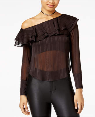 The Edit by Seventeen Juniors' One-Shoulder Top, Created for Macy's