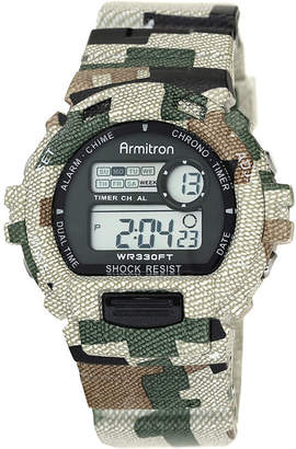 Armitron Mens Camouflage Chronograph Digital Sport Watch 40/8216MILJ