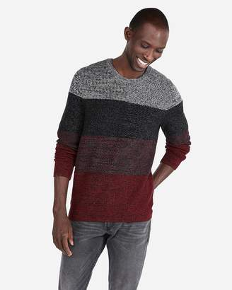 d1dd9ed35a1f Men Grey And Red Striped Sweater - ShopStyle