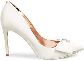 Ted Baker Asellys Satin Bow Pumps