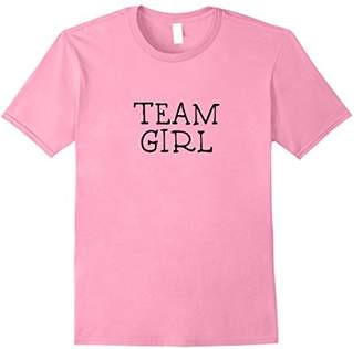 Team Girl Baby Announcement t shirt -Pregnancy Gender Reveal