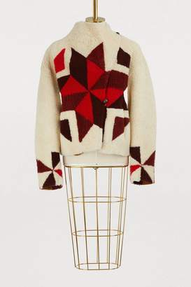 Isabel Marant Acan shearling coat