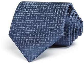 Armani Collezioni Abstract Print Classic Tie $195 thestylecure.com
