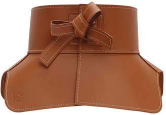 1bcfdbbe59 Loewe Tan Leather Obi Belt