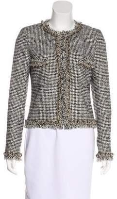 Chanel Metallic Tweed Jacket