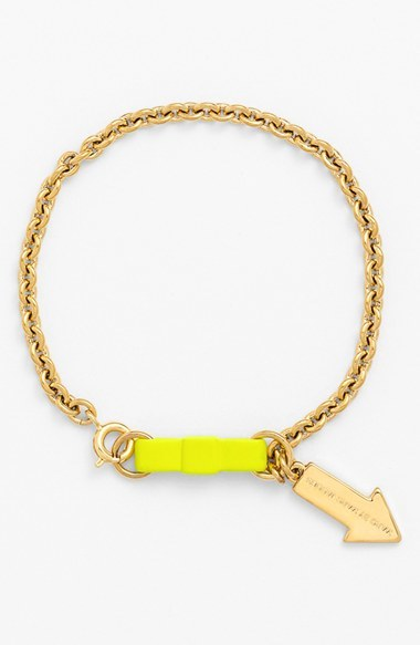 Marc by Marc Jacobs Bow Tie Charm Bracelet