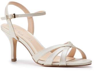 9a2661cdab Paradox London Hero Wide Fit Champagne Low Heel Strappy Sandals