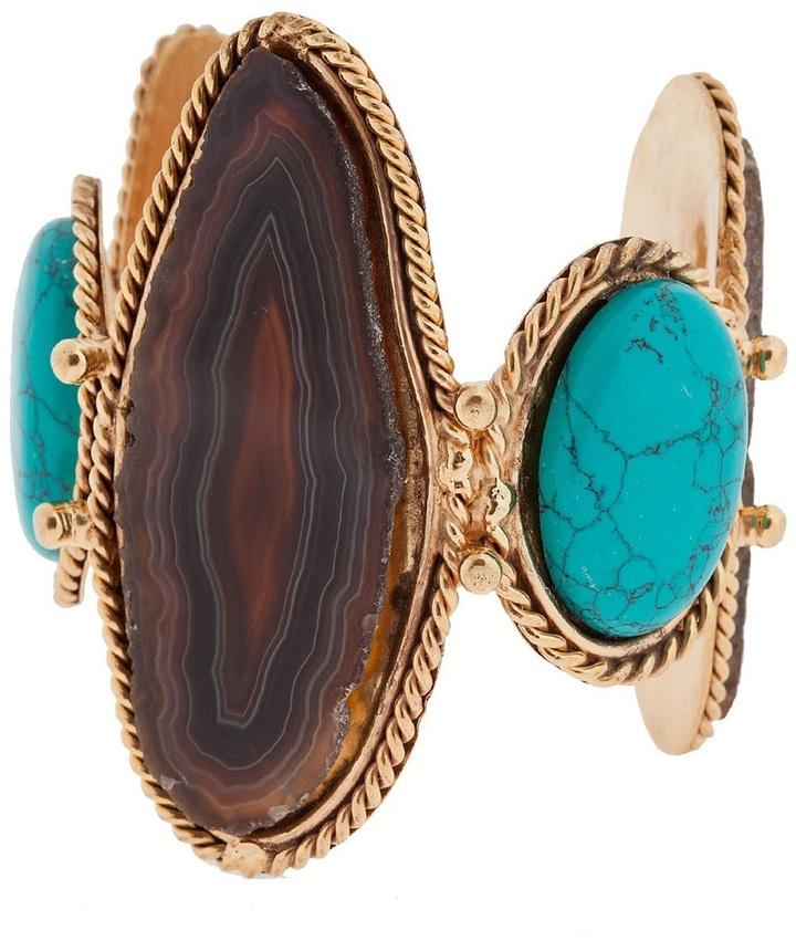 Sylvia Toledano stone embellished cuff