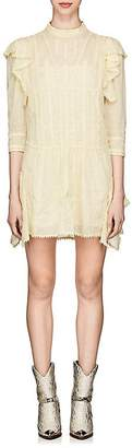 Etoile Isabel Marant Women's Alba Embroidered Cotton Shift Dress