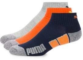 Puma Three-Pack Varied Ankle Socks