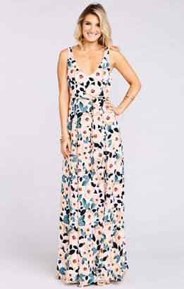 Show Me Your Mumu Jenn Maxi Dress ~ Steel Magnolia