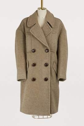 Isabel Marant Etim oversized pea coat