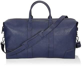 Uri Minkoff Zippered Leather Duffel Bag