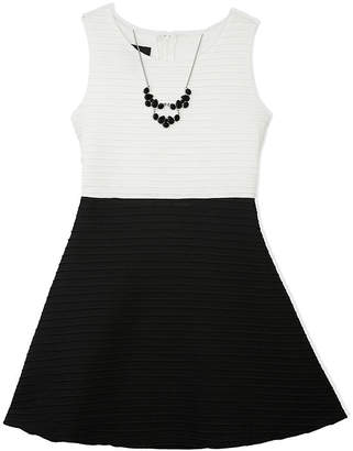 JCPenney BY AND BY GIRL by&by Girl Sleeveless Fit-and-Flare Dress - Girls 7-16