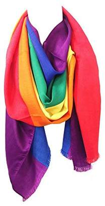 Chris Wang Gay LGBT Pride Rainbow Pashmina Scarf