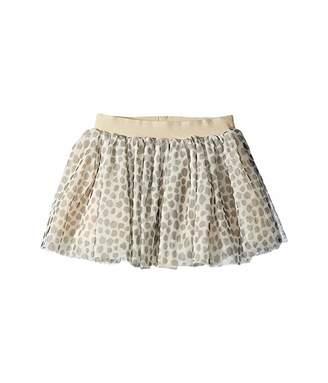 HUXBABY Leopard Tulle Skirt (Infant/Toddler)