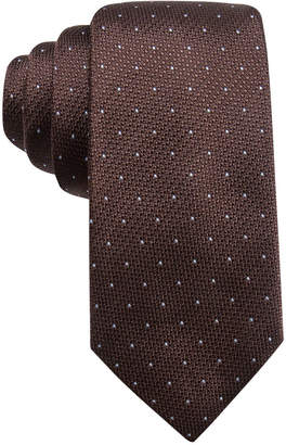 Tasso Elba Men's Dot Silk Tie, Created for Macy's $59.50 thestylecure.com