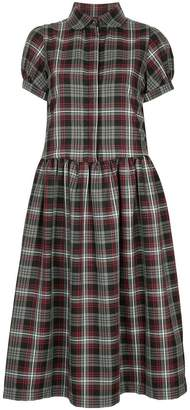 DAY Birger et Mikkelsen Shrimps Effie tartan short sleeve dress