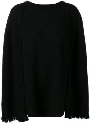 Y's cape style sweater