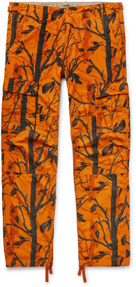 Carhartt Wip WIP - Aviation Slim-Fit Cotton-Ripstop Cargo Trousers - Men - Orange