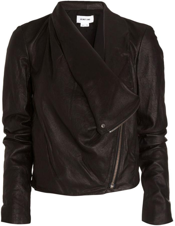 Helmut Lang Side Draped Jacket