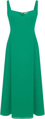Emilia Wickstead Myrana Crepe Midi Dress