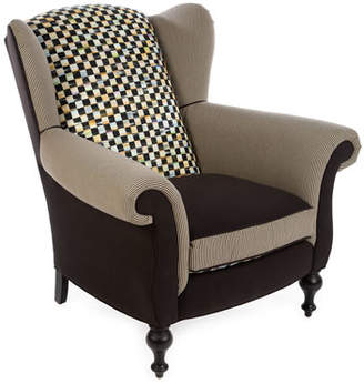 Mackenzie Childs MacKenzie-Childs Underpinnings Studio Wing Chair