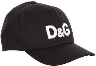 Dolce & Gabbana Embroidered Logo Baseball Cap
