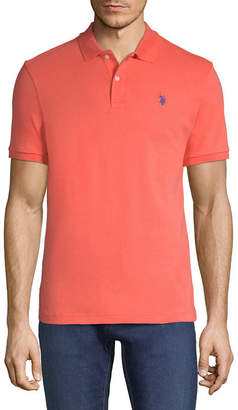 U.S. Polo Assn. USPA Embroidered Short Sleeve Polo Shirt
