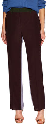 Valentino Colorblocked Flat Front Pant