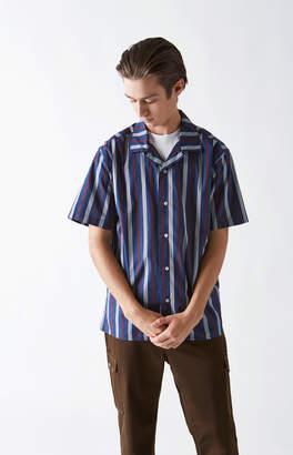 Katin Jesse Stripe Short Sleeve Button Up Shirt