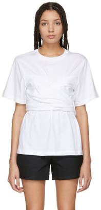 Proenza Schouler White Wrapped T-Shirt