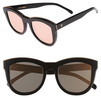 VALLEY Trachea 51mm Retro Sunglasses $239.99 thestylecure.com