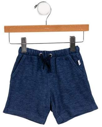 Il Gufo Boys' Two-Pocket Drawstring Shorts