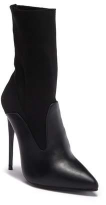 LOST INK Juliet Stretch Shaft Stiletto Boot