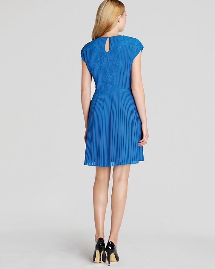 Ted Baker Saskhia Lace Pleated Dress