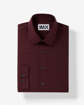 Express Extra Slim Easy Care Textured 1Mx Shirt
