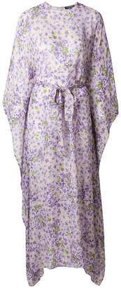 Twin-Set printed maxi dress