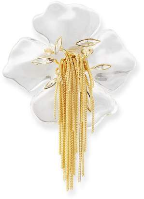 Alexis Bittar Ophelia Fringe Pansy Pin