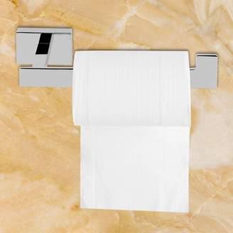 Dilwe Bathroom Bathhouse Washroom Toilet Paper Holder Storage Towel Rack Chrome Plated Accessory, Bathroom Tool, Bathroom Towel Rack