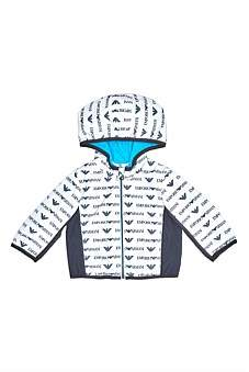 Emporio Armani Logo Printed Jacket (12-36 Months)