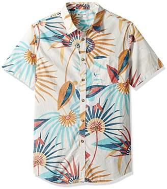 Billabong Men's Sunday Floral Short Sleeve Shirt