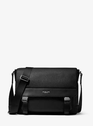 bd6af5f91eef Michael Kors Greyson Pebbled Leather Messenger Bag