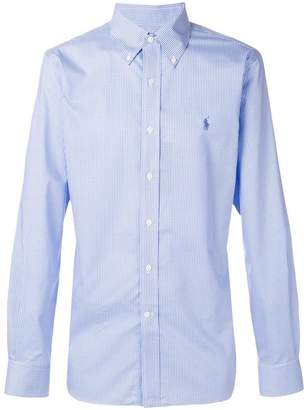 Polo Ralph Lauren button-down checked logo shirt