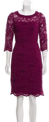 Nicole Miller Scalloped Lace Dress w/ Tags