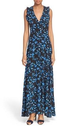 Rebecca Taylor 'Kyoto' Silk Print Maxi Dress $495 thestylecure.com